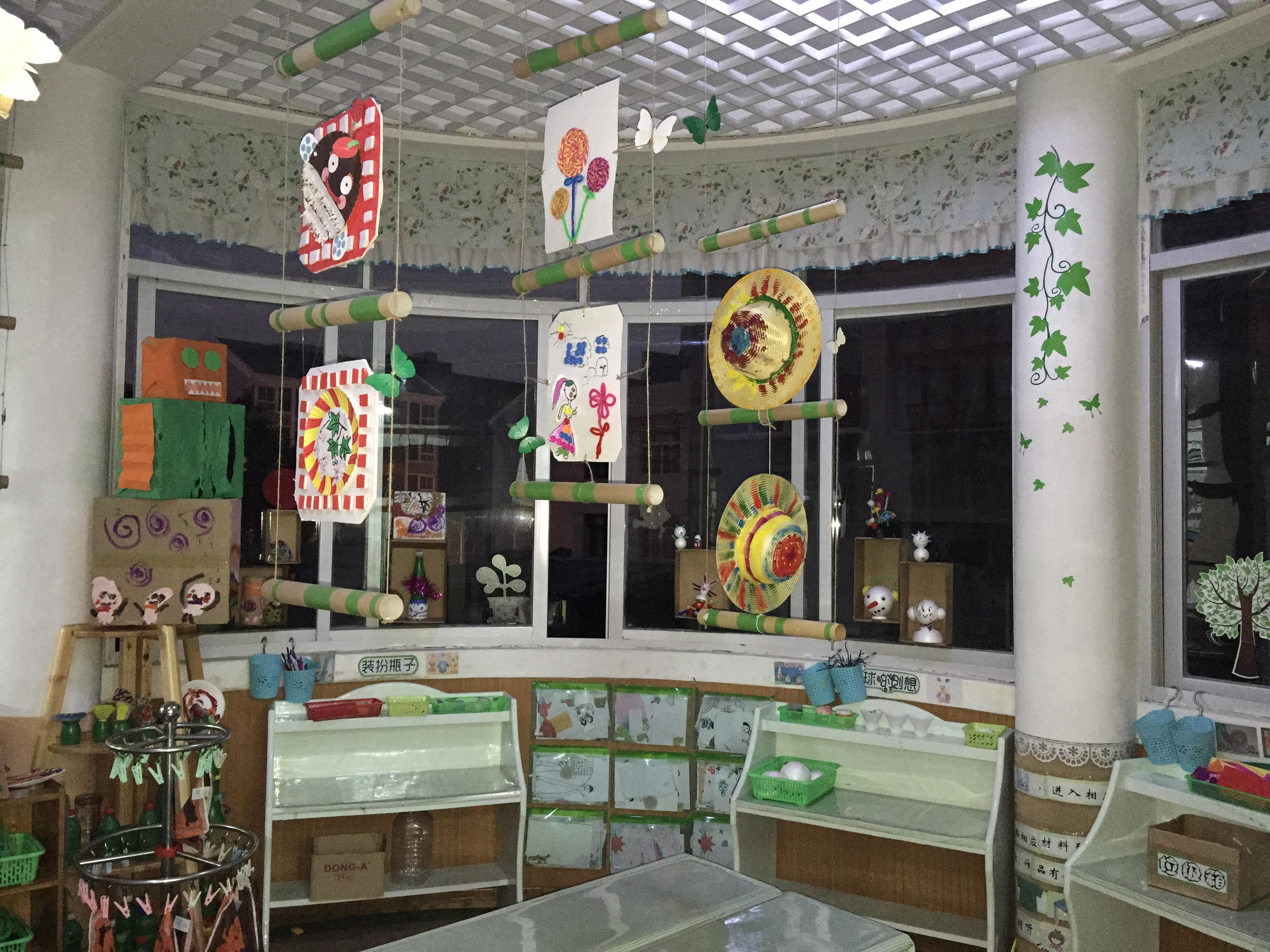 瑞安市机关幼儿园 园所概况 园所照片之班级活动室